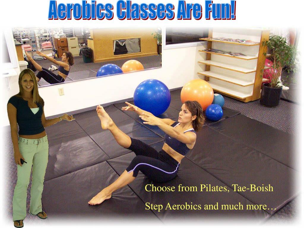 Aerobics Classes Are Fun!