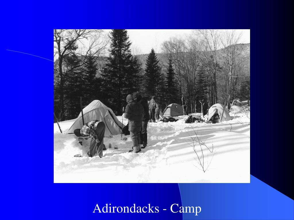 Adirondacks - Camp
