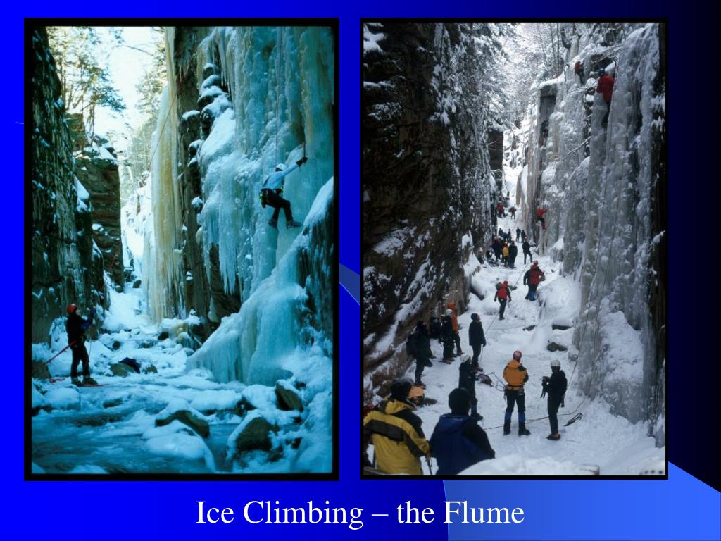 Ice Climbing – the Flume