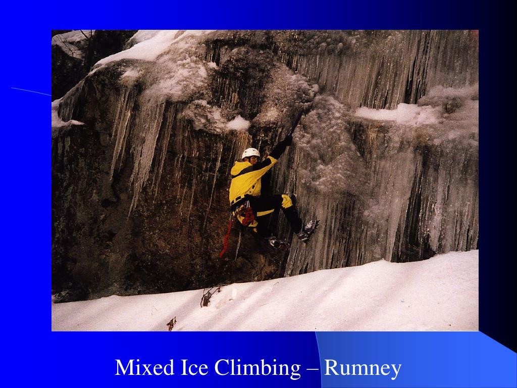 Mixed Ice Climbing – Rumney