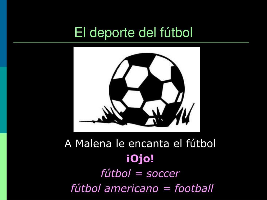 El deporte del fútbol