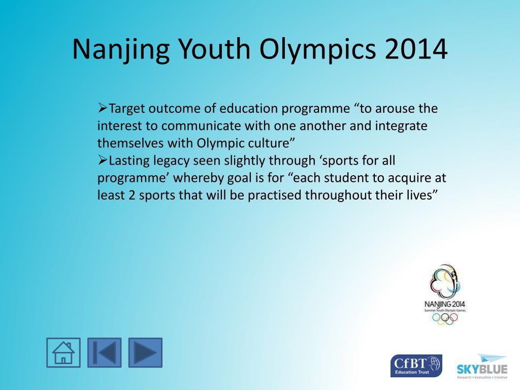 Nanjing Youth Olympics 2014