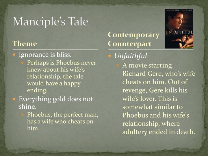 Manciple's Tale