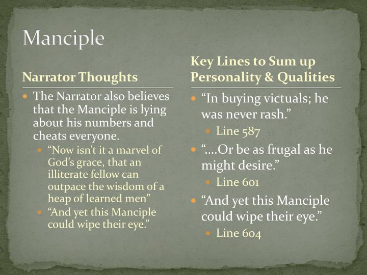 Manciple
