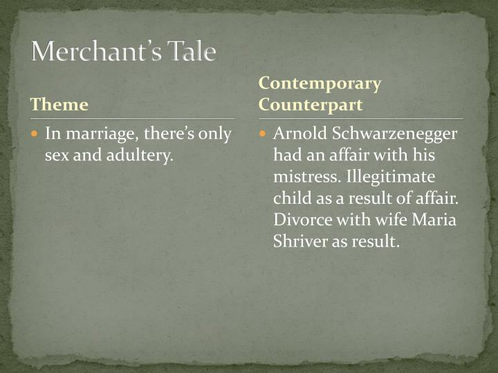 Merchant's Tale