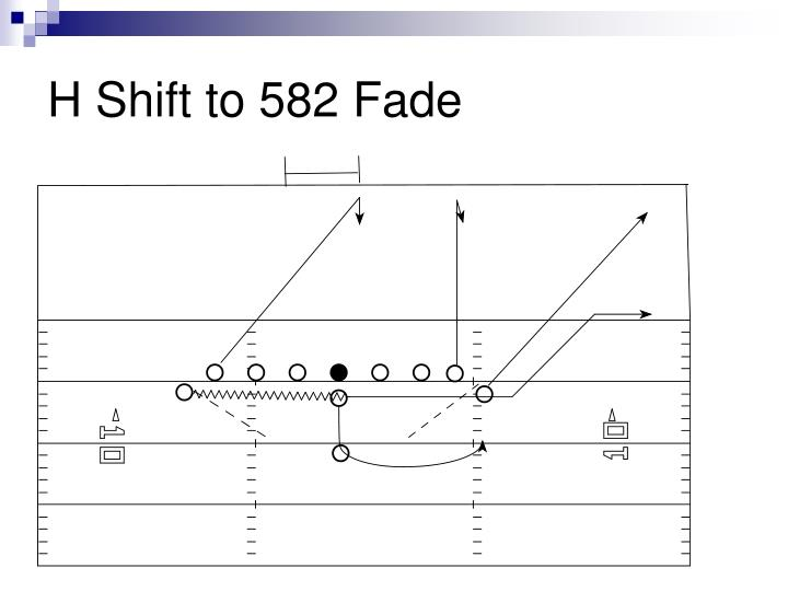 H Shift to 582 Fade