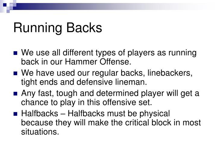 Running Backs
