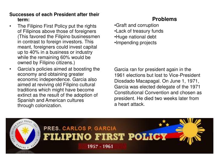 PPT - Presidents of the Republic of the Philippines ...