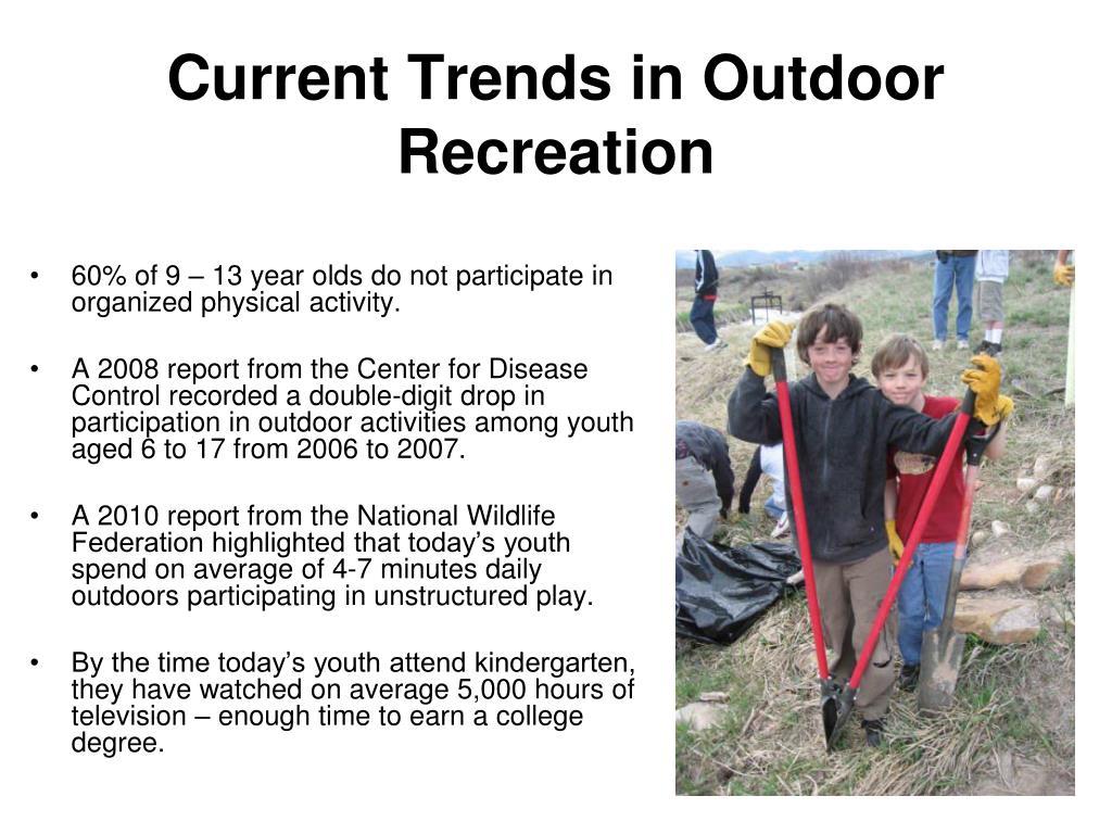 Current Trends in Outdoor Recreation