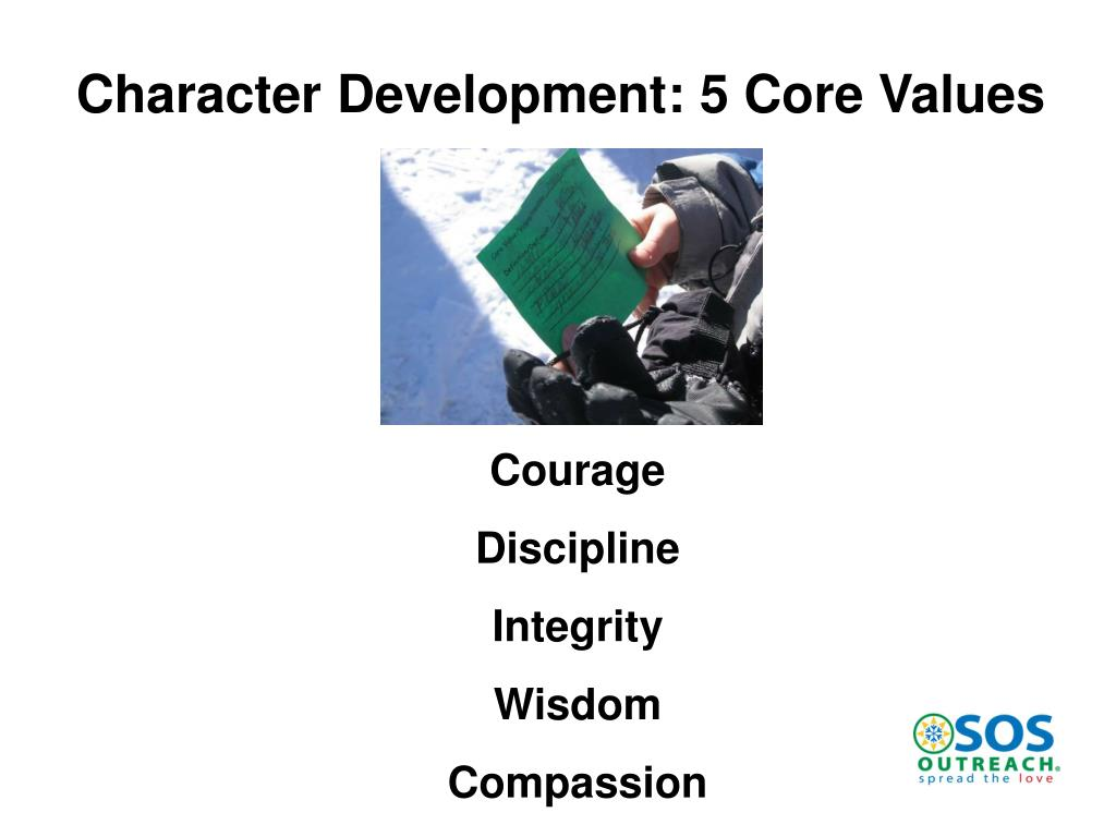 Character Development: 5 Core Values