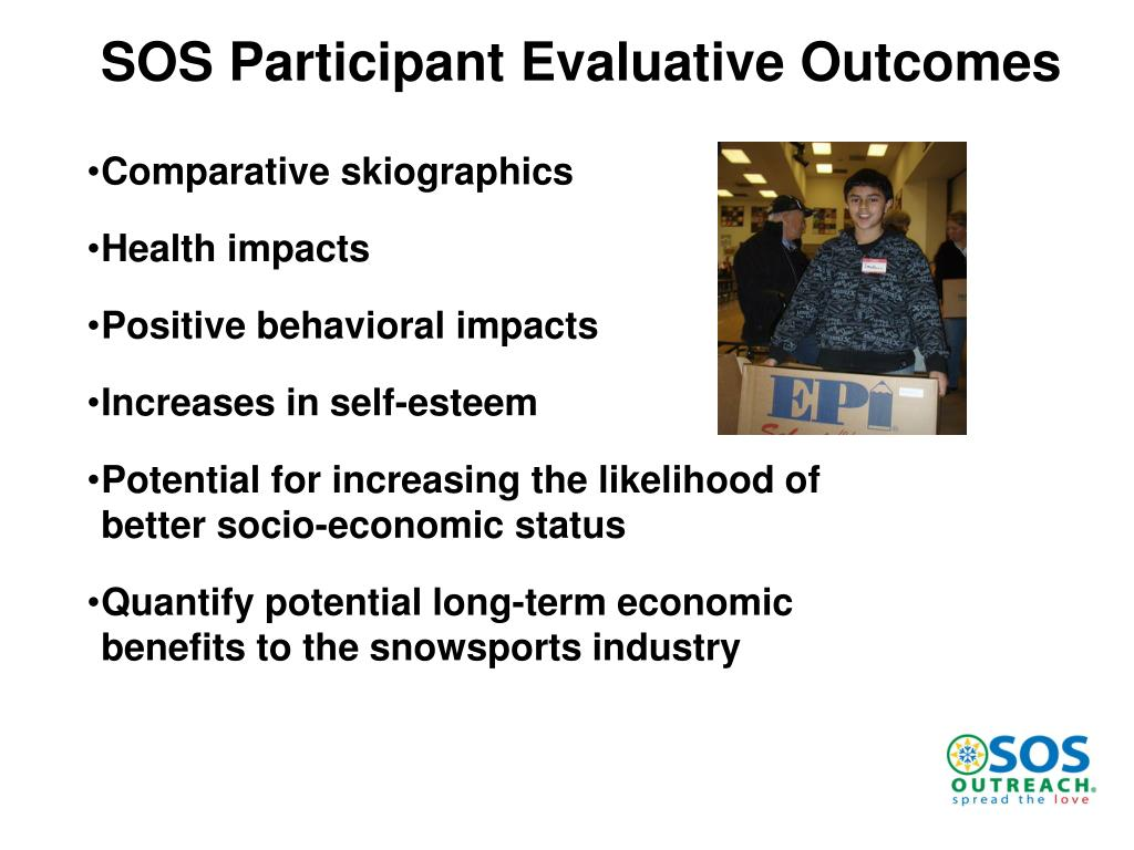 SOS Participant Evaluative Outcomes
