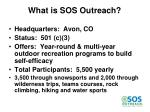 what is sos outreach
