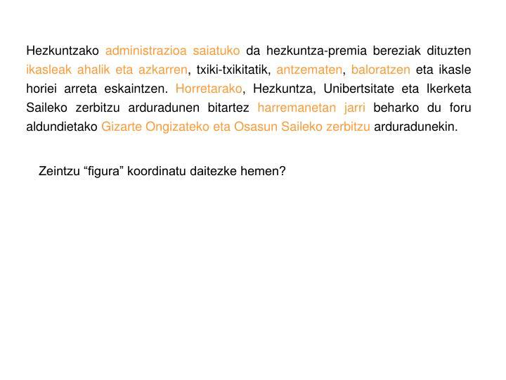 Hezkuntzako