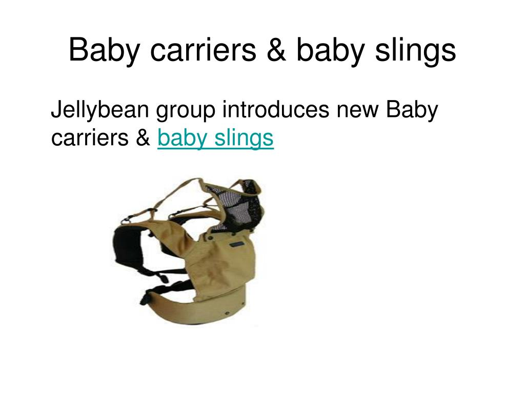 Baby carriers & baby slings