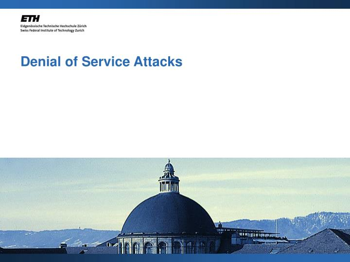 Denial of service attacks l.jpg