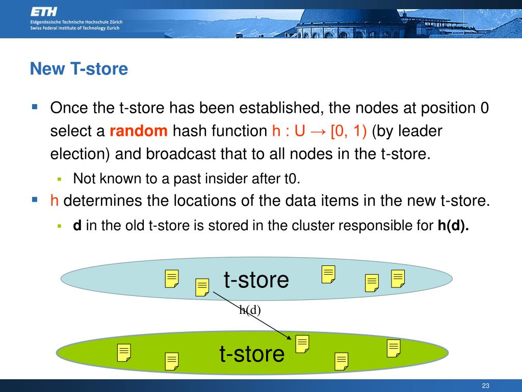 New T-store