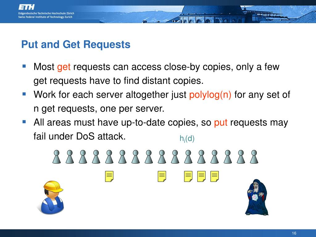 Put and Get Requests