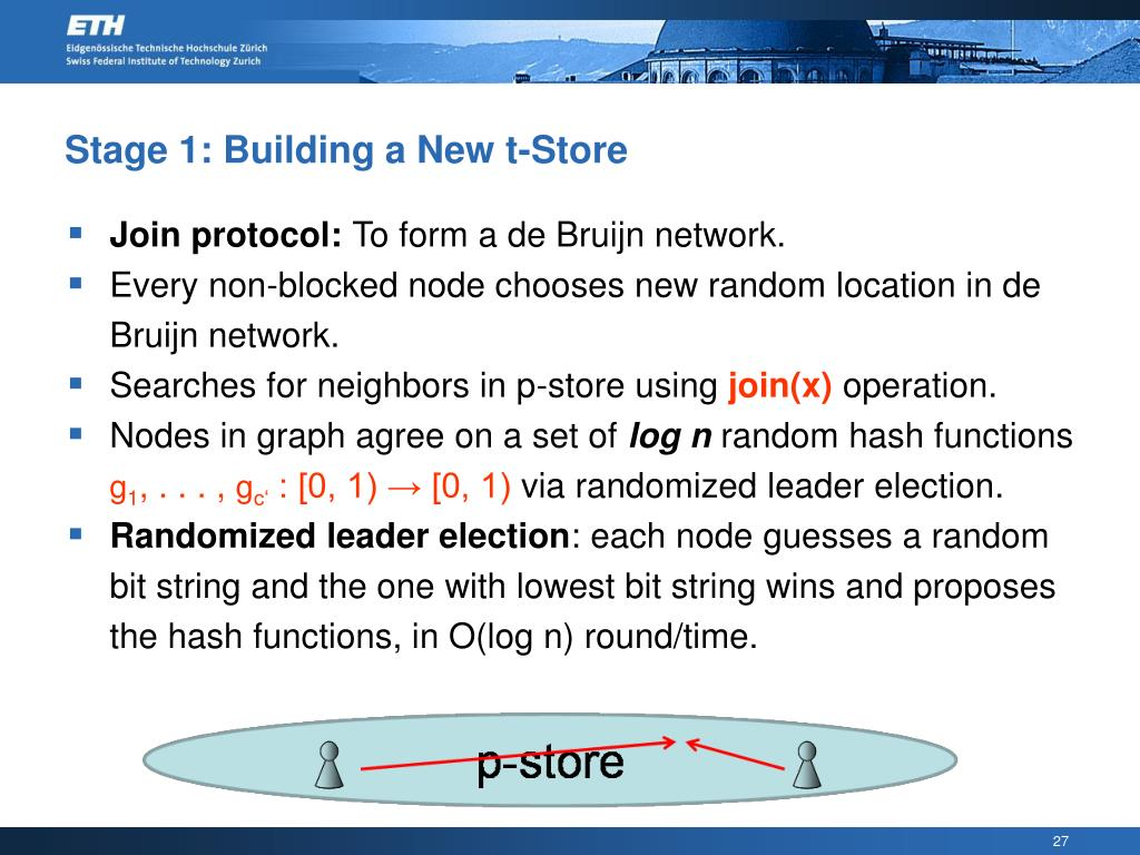 Stage 1: Building a New t-Store