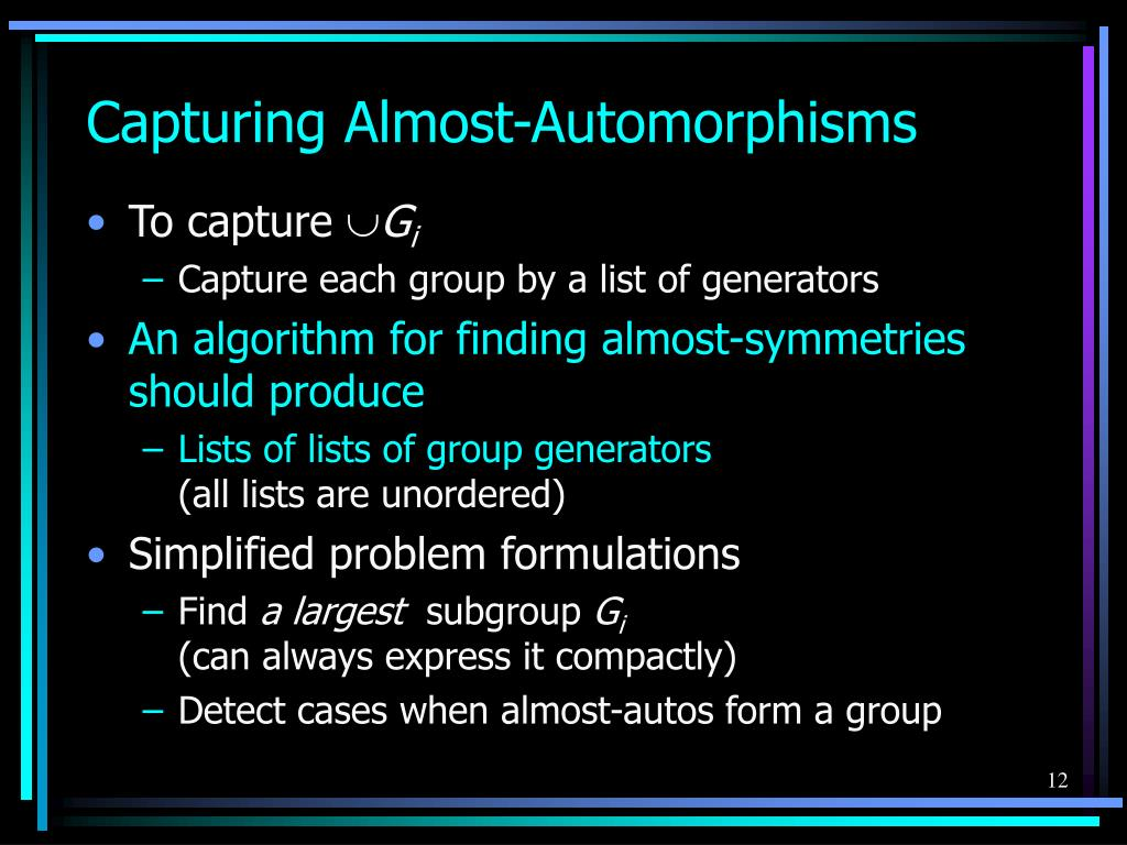 Capturing Almost-Automorphisms