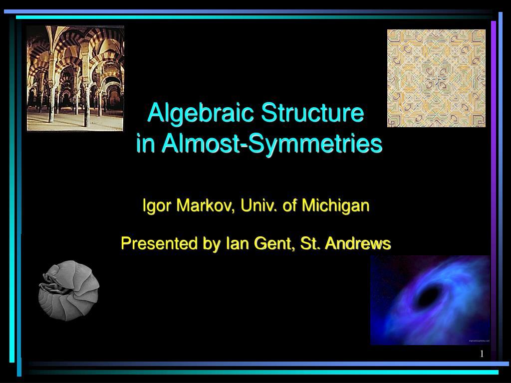 Algebraic Structure