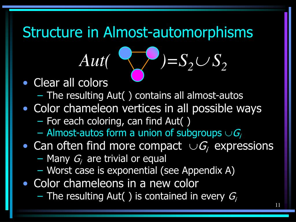 Structure in Almost-automorphisms