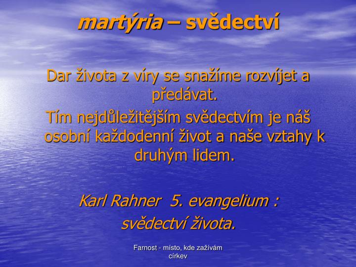 martýria