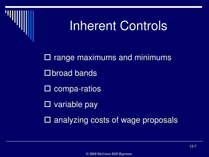 Inherent Controls