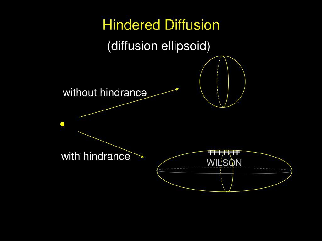 Hindered Diffusion