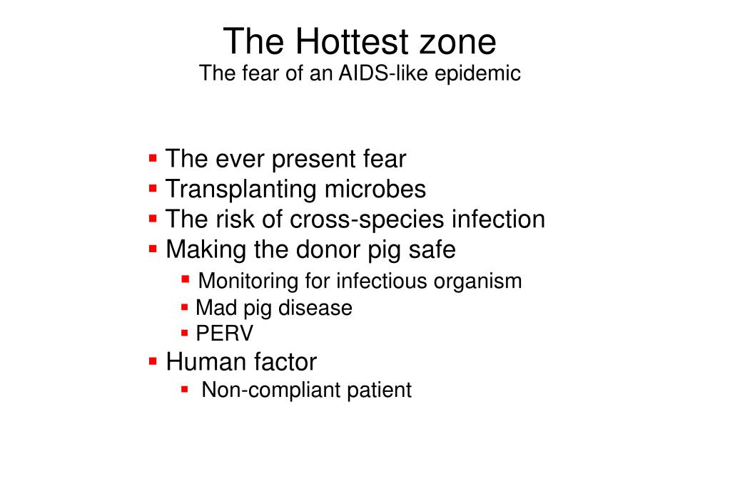 The Hottest zone