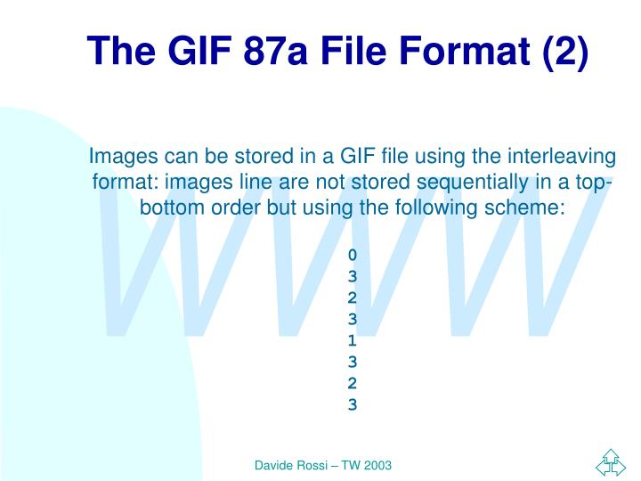 The GIF 87a File Format (2)