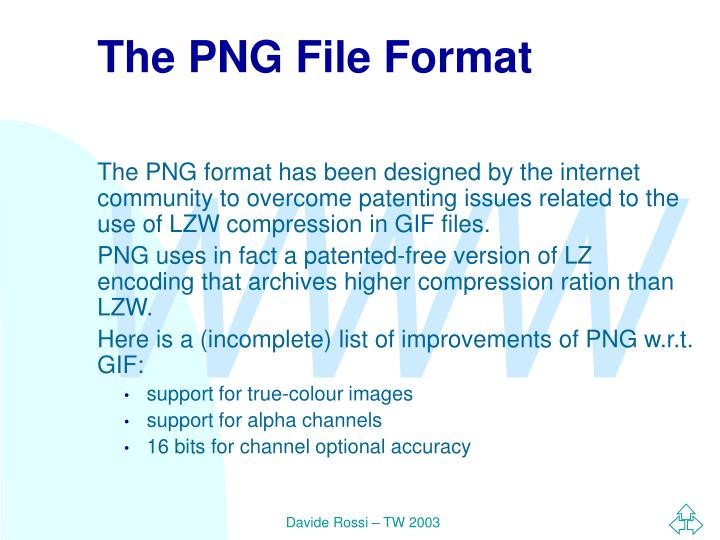 The PNG File Format