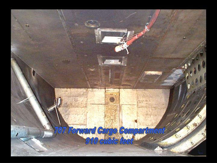707 Forward Cargo Compartment