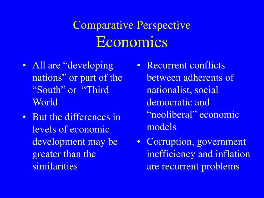 """All are """"developing nations"""" or part of the """"South"""" or  """"Third World"""