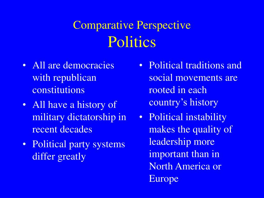 All are democracies with republican constitutions