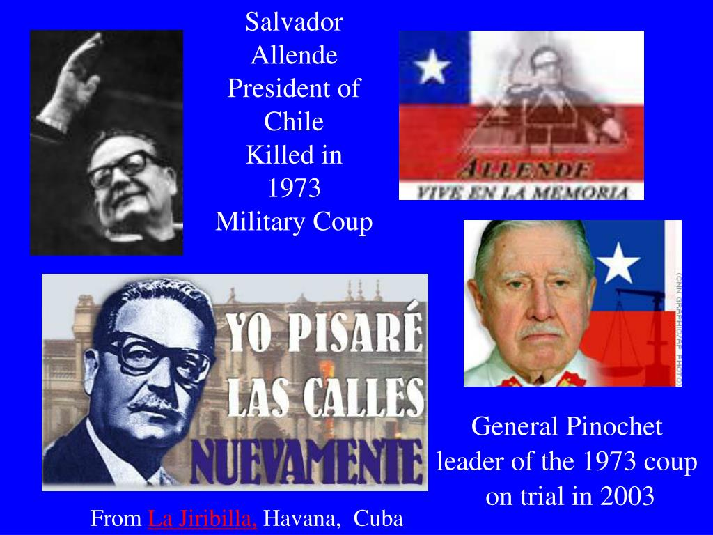 Salvador Allende President of Chile