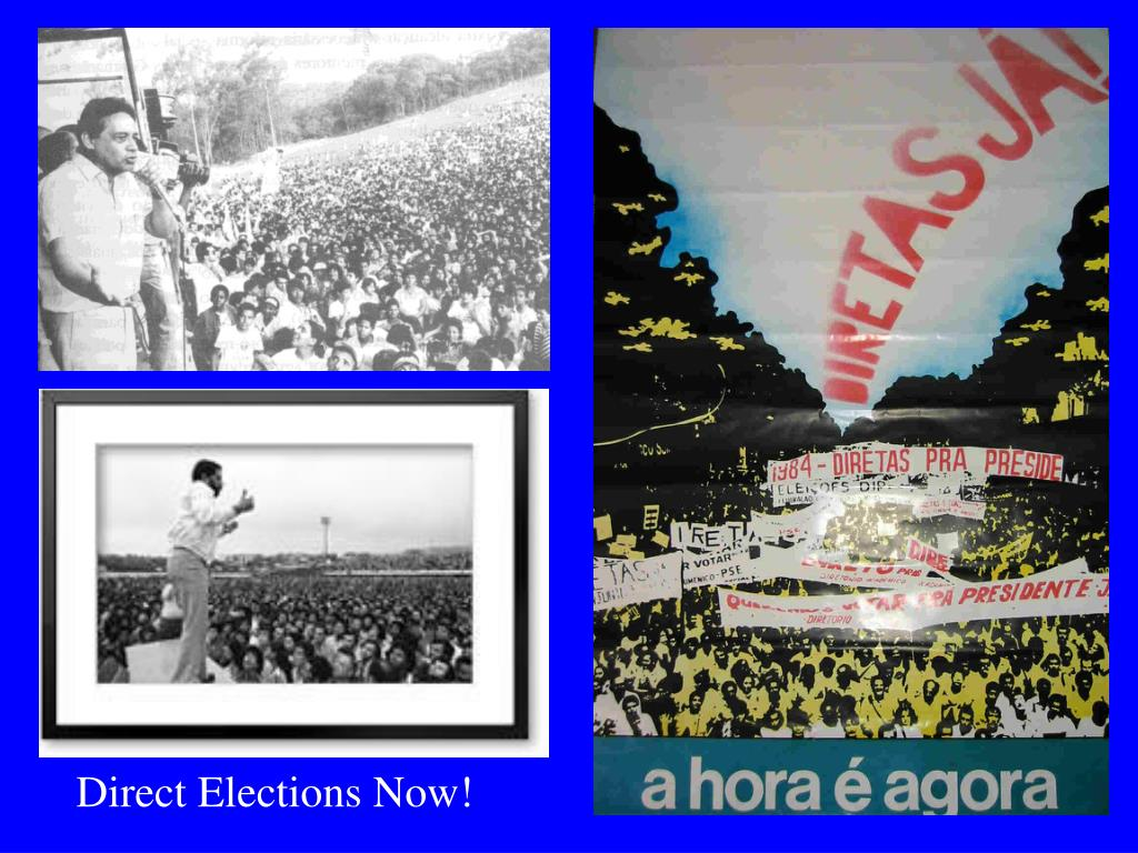 Direct Elections Now!