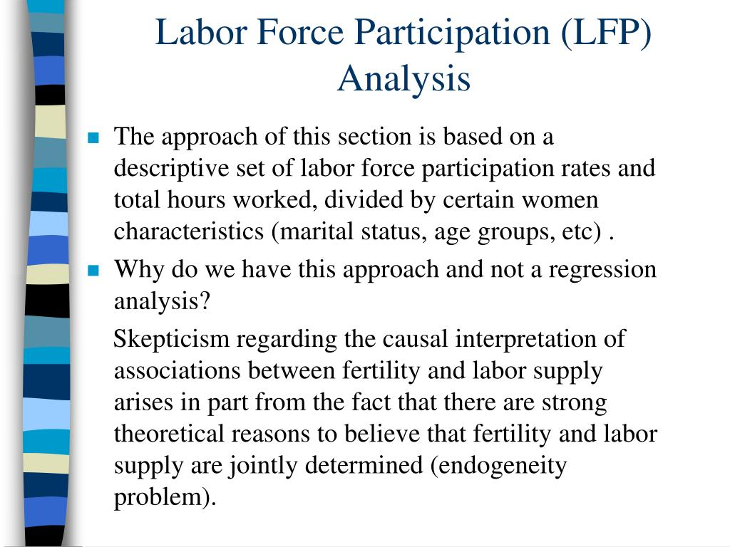 Labor Force Participation (LFP) Analysis