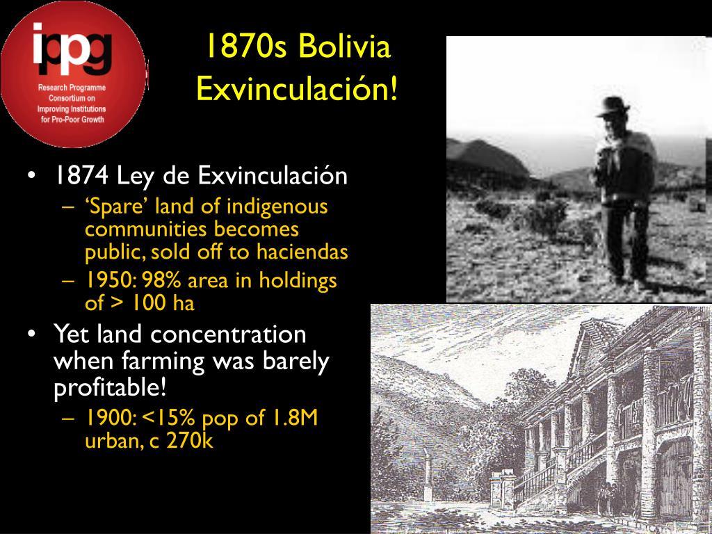 1870s Bolivia