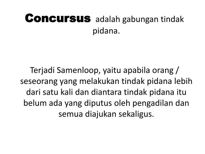 Concursus
