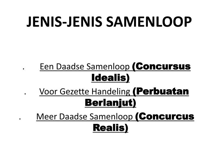 JENIS-JENIS