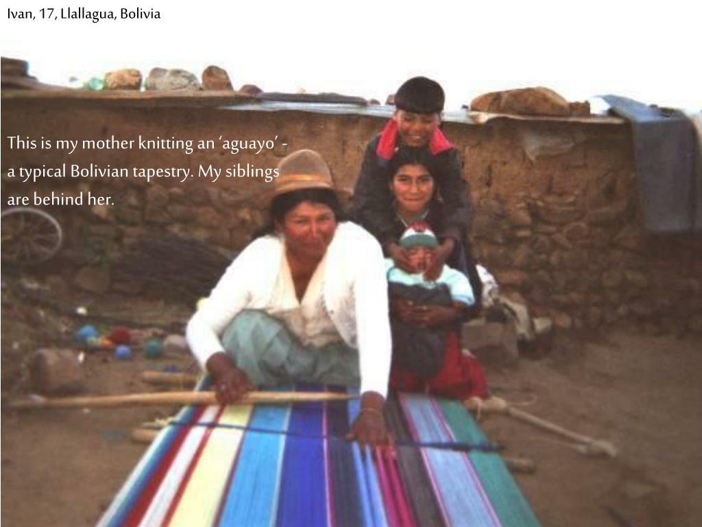 Ivan, 17, Llallagua, Bolivia