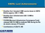 giefa last achievements