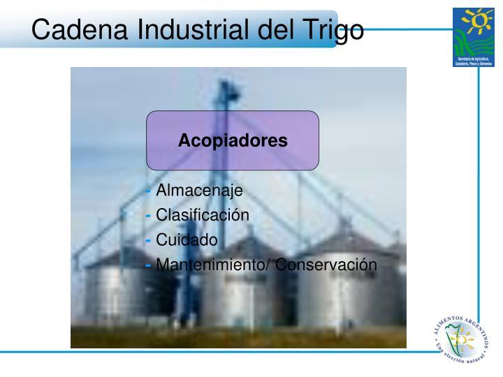 Cadena Industrial del Trigo
