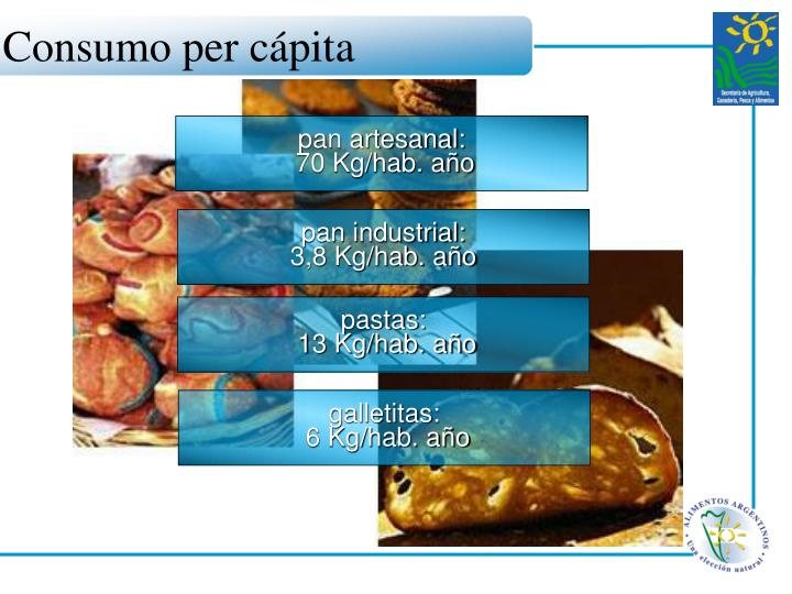 Consumo per cápita