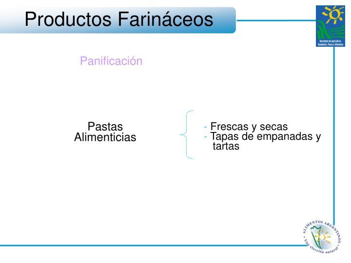 Productos Farináceos