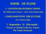 sofie outline