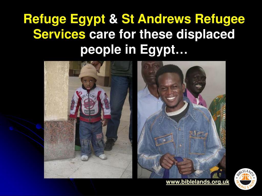 Refuge Egypt