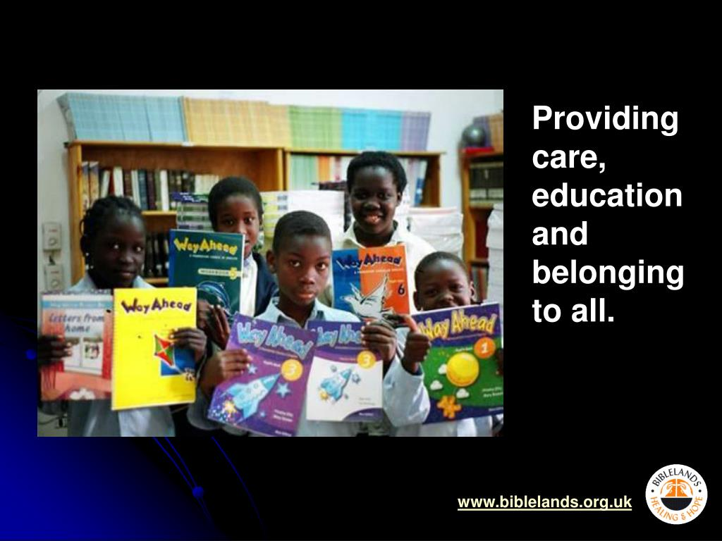 Providing care, education and belonging to all.