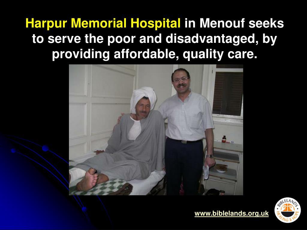 Harpur Memorial Hospital