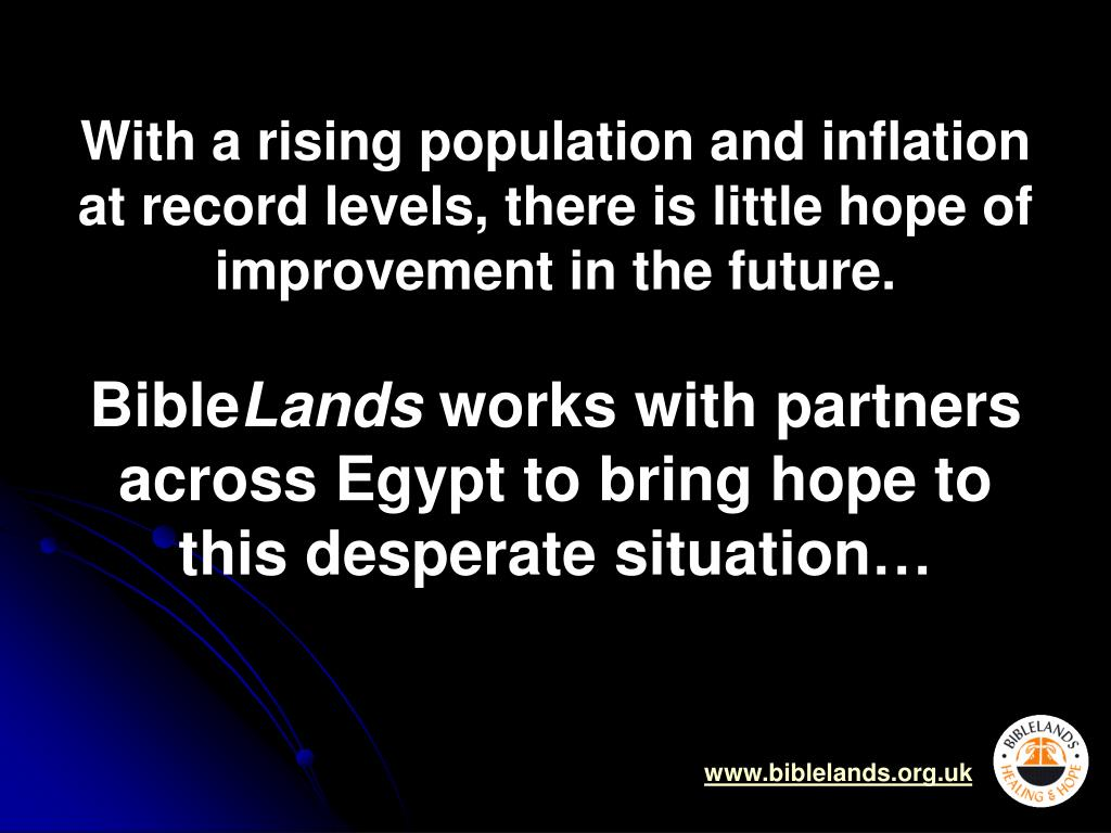 With a rising population and inflation at record levels, there is little hope of improvement in the future.